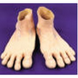 Adult Deluxe Jumbo Rubber Feet