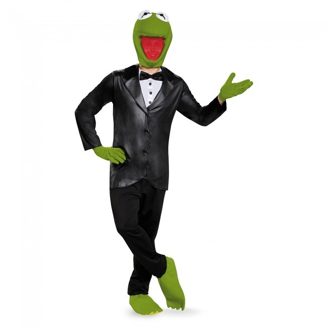 Adult Deluxe Kermit the Frog Costume