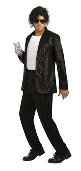 Adult Deluxe Michael Jackson Billie Jean Jacket