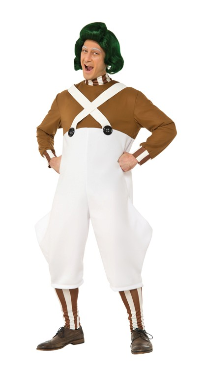 Adult Deluxe Oompa Loompa Costume - Standard