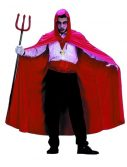 Adult Deluxe Red Hooded Cape