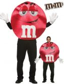 Adult Deluxe Red M&M'S Character Costume