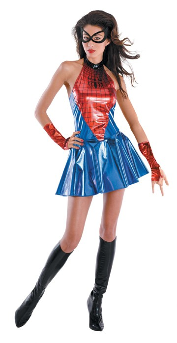 Adult Deluxe Sassy Spidergirl Costume