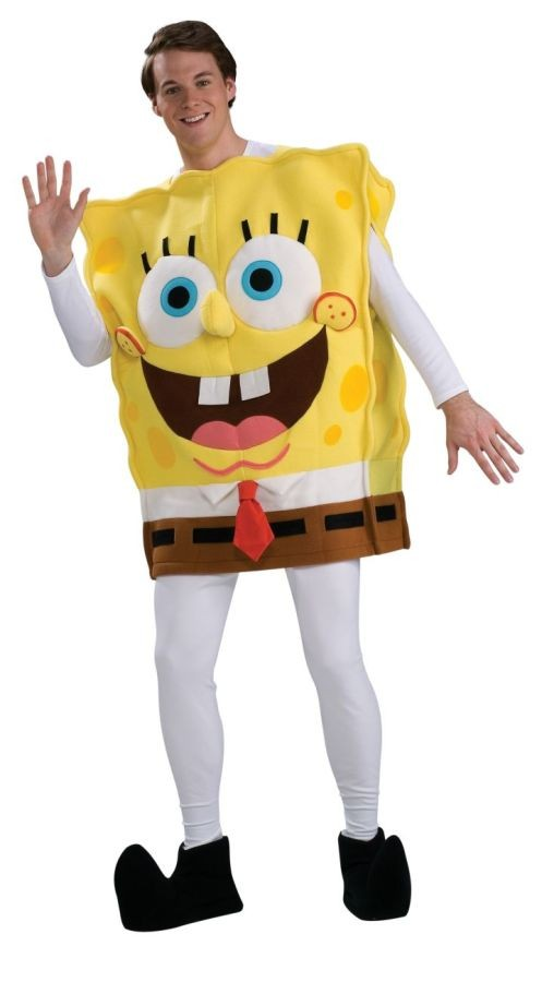 Adult Deluxe Spongebob Costume