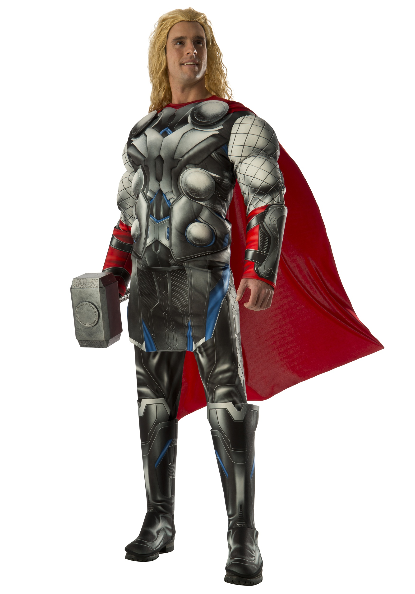 Adult Deluxe Thor Avengers 2 Costume