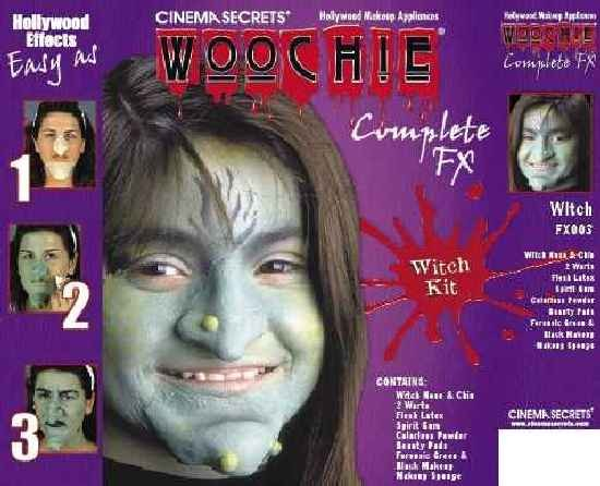 Adult Deluxe Witch Makeup Kit