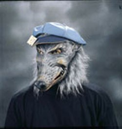 Adult Dirty Rat Mask