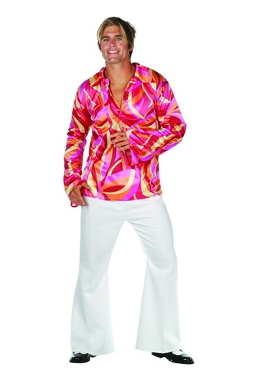 Adult Disco Heat Costume (Groovy Lines)