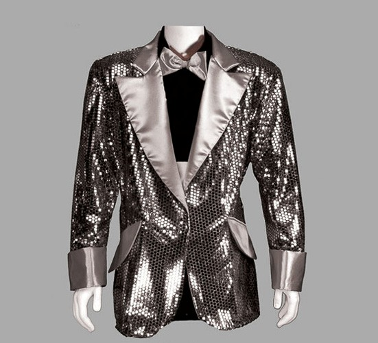 Adult Disco Jacket ? Silver