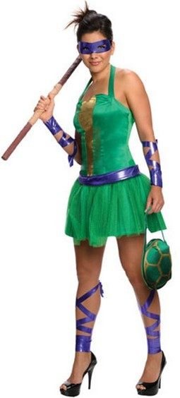 Adult Donatello Female Costume