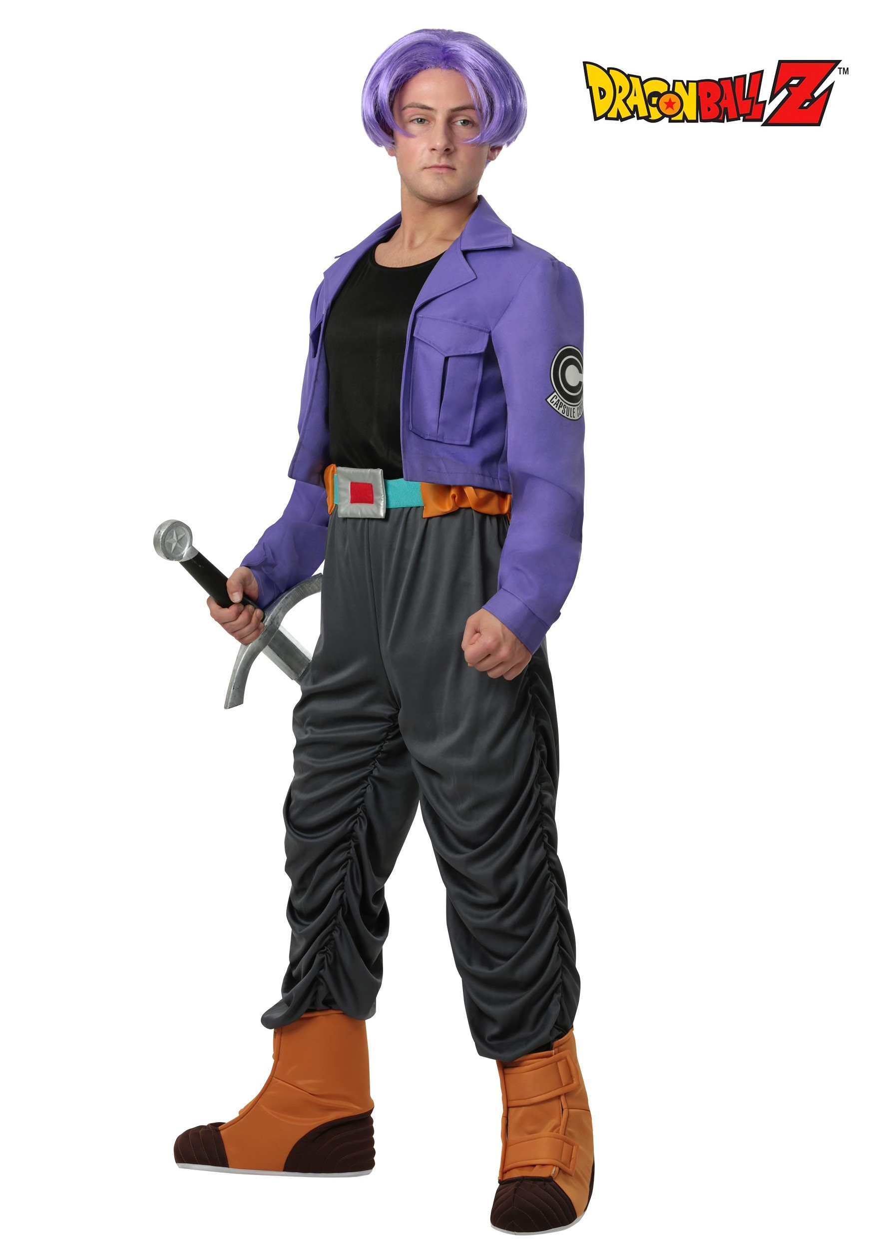 Adult Dragon Ball Z Trunks Costume