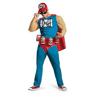 Adult Duffman Costume