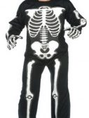 Adult EVA Skeleton Jumpsuit - Deluxe