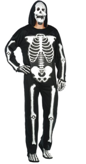 Adult EVA Skeleton Jumpsuit