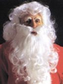 Adult Economy Santa Suit Wig and Beard