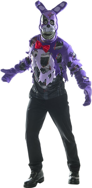 Adult FNAF Nightmare Bonnie Costume