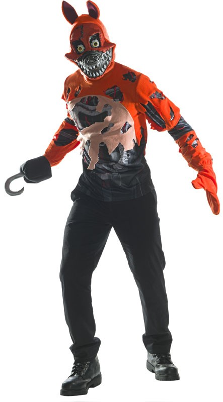 Adult FNAF Nightmare Foxy Costume