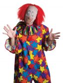 Adult Fabric Scary Clown Mask