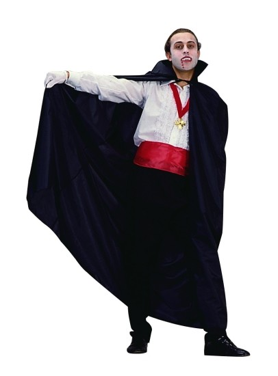 Adult Fancy Taffeta Dracula Cape