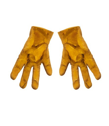 Adult Fantastic 4 The Thing Muscle Gloves