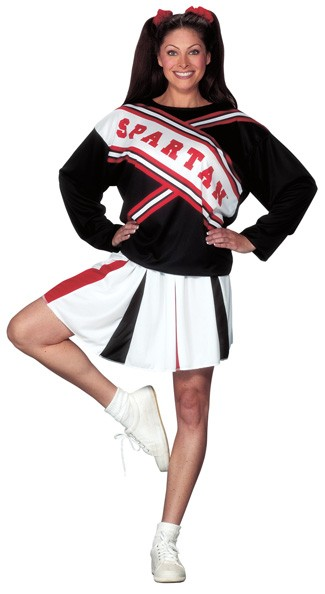 Adult Female Spartan Cheerleader Costume