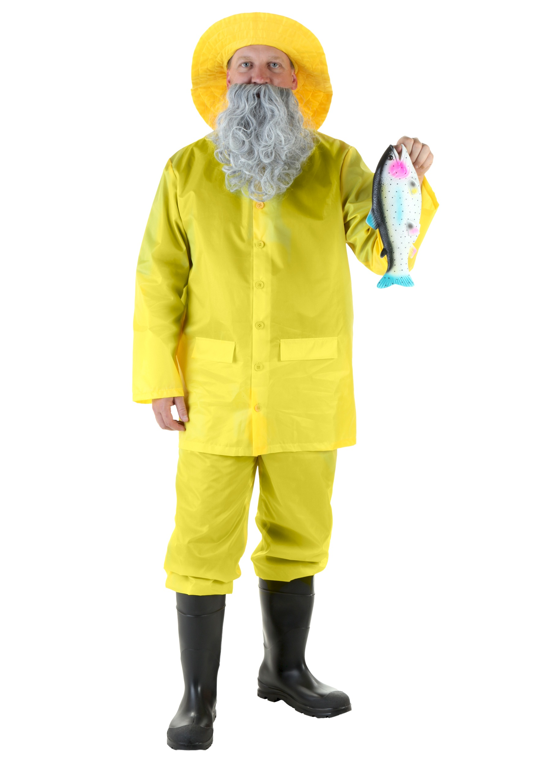 Adult Fisherman Costume