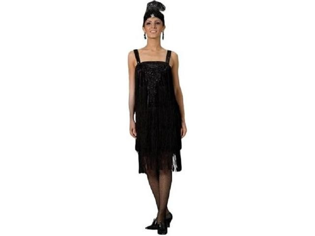 Adult Flapper Costume ? Black