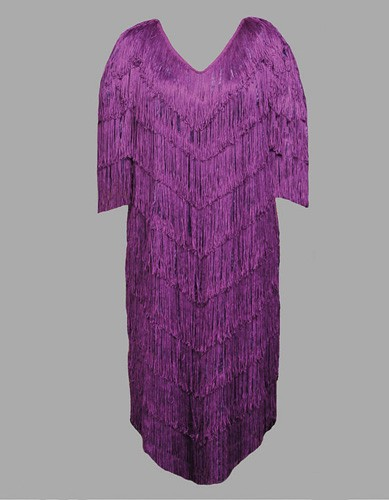 Adult Flapper Costume ? Purple