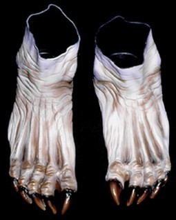 Adult Flesh Monster Feet Shoes Accessory