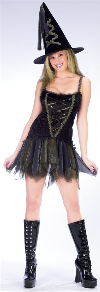 Adult Flirty Witch Costume