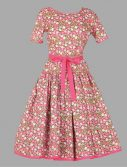 Adult Floral Dress Costume ? Pink