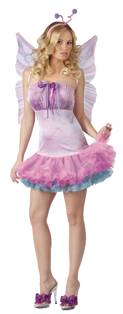 Adult Fluttery Butterfly Costume