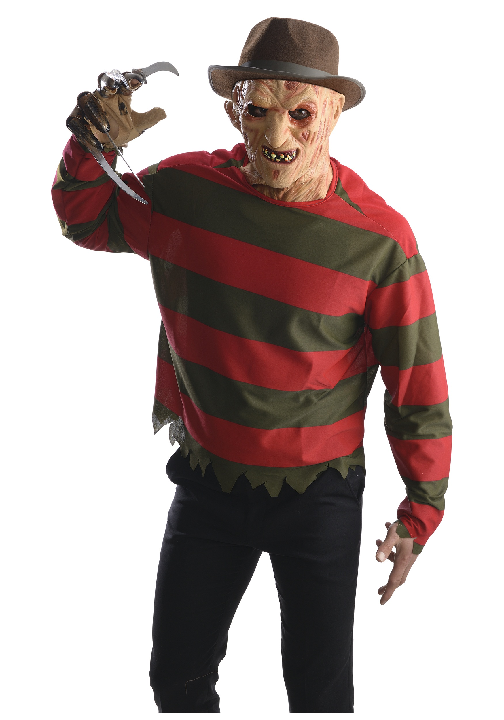 Adult Freddy Krueger Shirt w/ Mask