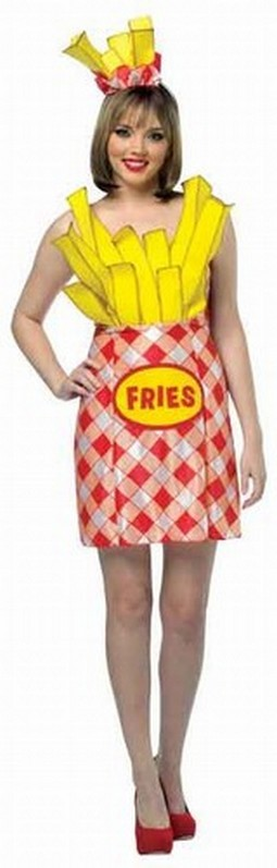Adult French Fries Dress