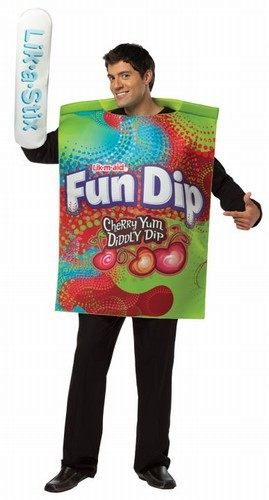 Adult Fun Dip Wrappers Costume