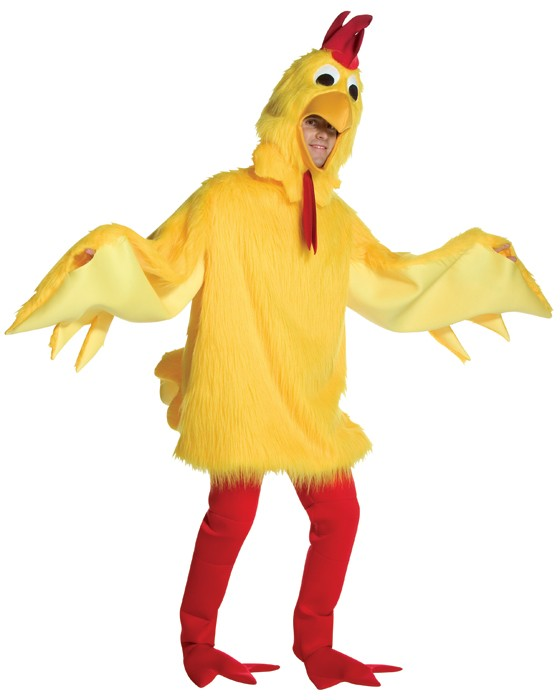 Adult Fuzzy Chicken Costume