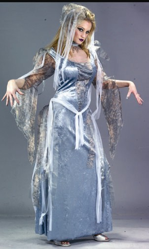 Adult Ghostly Goddess Ghost Costume