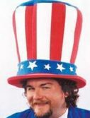 Adult Giant Foam Uncle Sam Hat