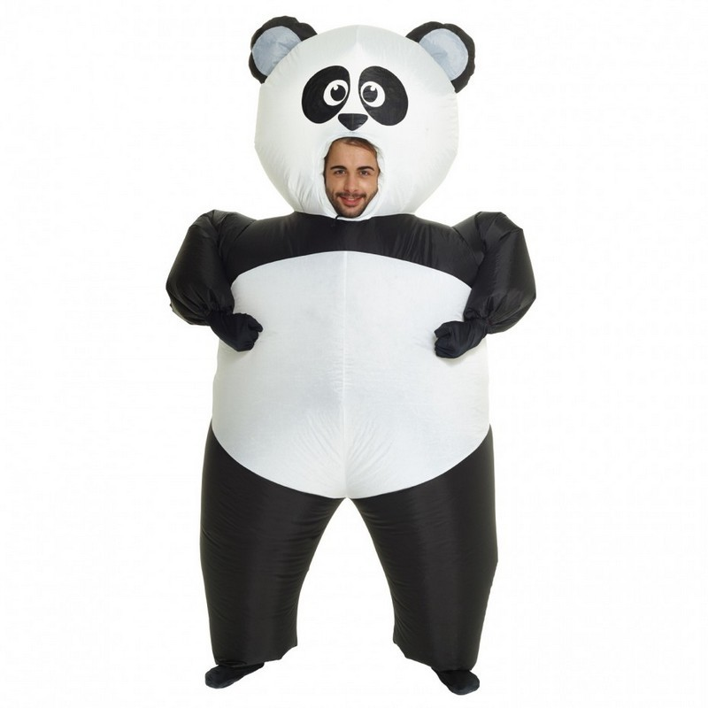 Adult Giant Panda Inflatable Costume