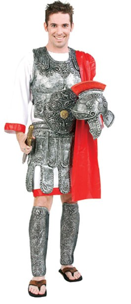 Adult Gladiator Costume with Armor