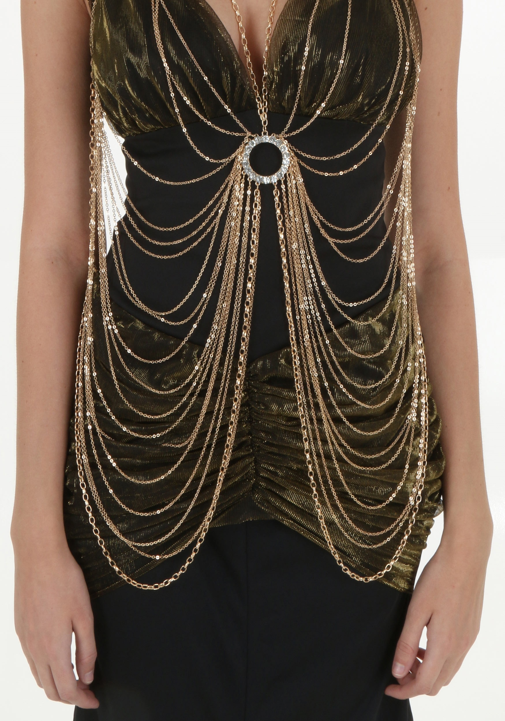 Adult Gold Body Chain
