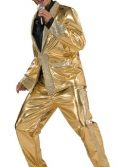 Adult Gold Lame Suit