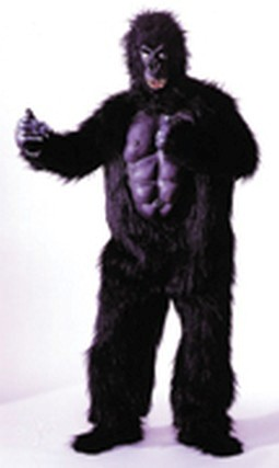 Adult Gorilla Costume with Chest