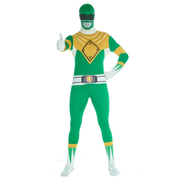 Adult Green Power Rangers Morphsuit
