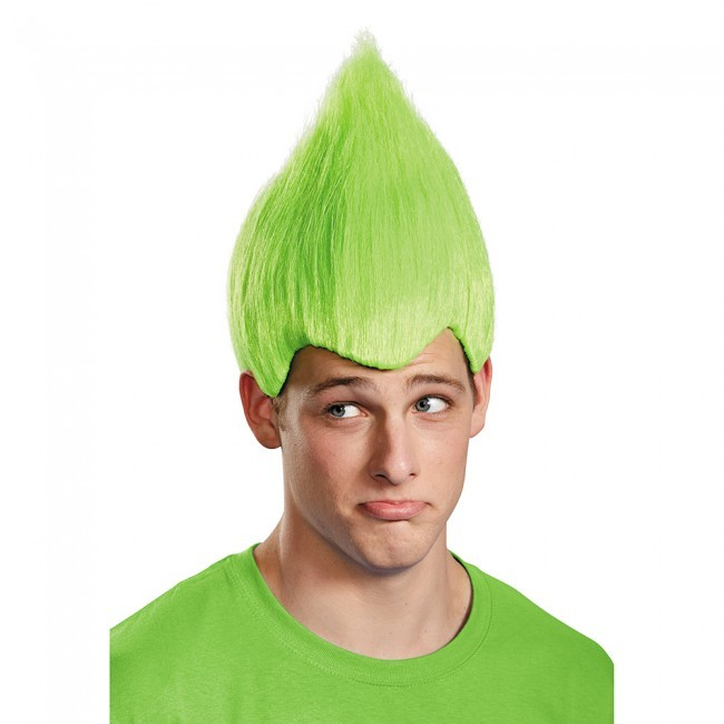 Adult Green Troll Wig