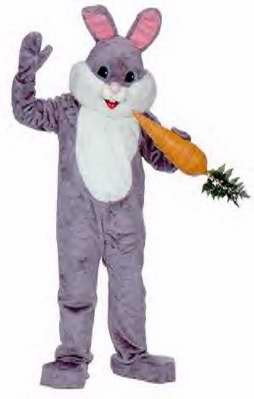 Adult Grey Premium Rabbit Costume