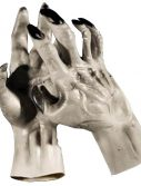 Adult Grey Werewolf Hands Gloves Accessory