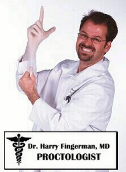 Adult Harry Fingerman Proctologist Costume