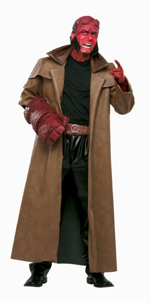 Adult Hellboy Costume