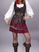 Adult High Seas Female Buccaneer Sailor Costume